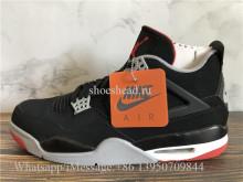 Super Quality Air Jordan 4 Retro Bred Black Cement 2019