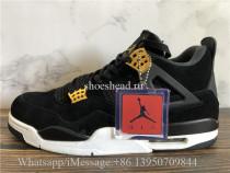 Air Jordan 4 IV Retro Royalty Black