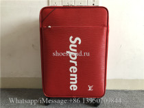 Supreme x Louis Vuitton Red Luggage