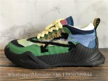 Virgil Abloh Debuts New Off-White ODSY-1000 Sneaker Green Blue Black