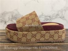 Gucci GG Platform Sandals Slipper