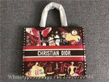 Original Christian Dior Book Tote Oblique Bag