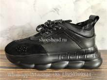 2Chainz Versace Chain Reaction Shoes All Black