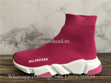 Balenciaga Speed Sock Trainer Rose Pink