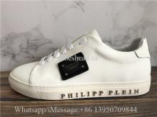 Philipp Plein White Low Top Sneaker