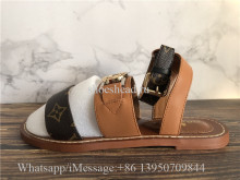 Louis Vuitton Stellar Brown Sandals