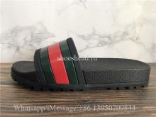 Gucci Flip Flops Slipper Black Sandal