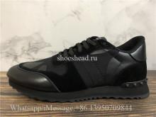 Valentino Garavani Rockrunner Black Camo Sneaker