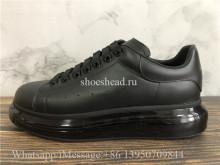 Super Quality Alexander McQueen Oversized Clear Sole Sneaker Triple Black