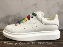 Super Quality Alexander McQueen Oversized Sneaker Multicolor Laces