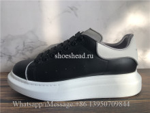 Super Quality Alexander McQueen Oversized Sneaker Black Reflective