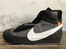 Off-White x Nike Blazer Mid Grim Reaper Black