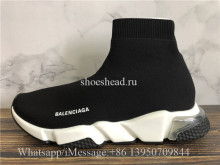 Balenciaga Speed Trainer Air Bubble Black White