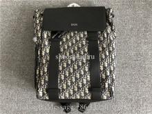 Original Quality Christian Dior Black Dior Oblique Jacquard Backpack