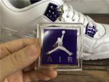 Air Jordan 4 Retro Metallic Purple
