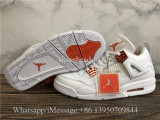 Air Jordan 4 Retro Metallic Orange