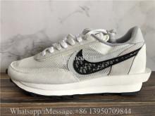 Dior x Sacai Nike LDWaffle Daybreak White Grey