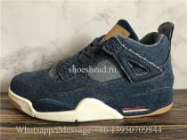 Levis x Air Jordan 4 Denim Blue