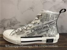 Super Quality Christian Dior B23 Newspaper High Top Sneaker