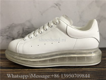 Super Quality Alexander McQueen Oversized Clear Sole Sneaker White