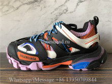 Balenciaga Track 3.0 Trainer Black Orange Blue Pink