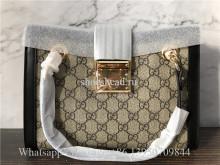 Original Gucci Padlock Medium GG Supreme Shoulder Bag