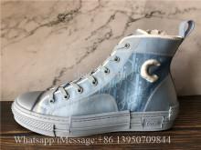 Super Quality Dior x Daniel Arsham B23 Oblique Blue Sneaker
