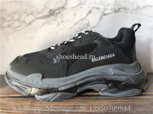 Balenciaga Triple S Clear Sole Trainer Black