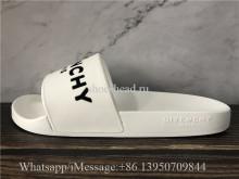 Givenchy White Slide