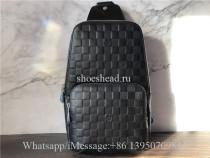 Original Super Louis Vuitton N41720 Avenue Sling bags Damier Infini Leather
