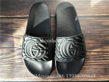 Gucci Pursuit Rubber GG Slide