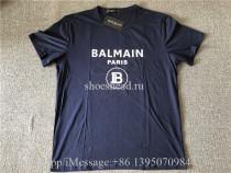 Balmain Blue Shirt