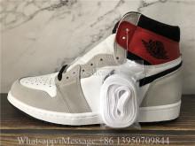 Super Quality Air Jordan 1 Retro Light Smoke Grey