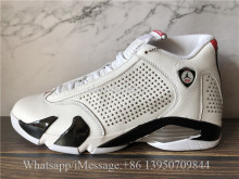 Supreme x Air Jordan 14 XIV Retro White University Red