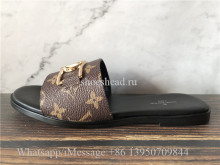 Louis Vuitton Lock It Flat Mule Slide