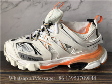 Super Quality Balenciaga Track 3.0 Trainer Orange Cream