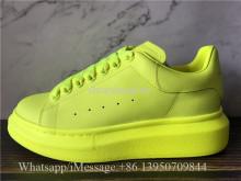 Super Quality Alexander McQueen Oversized Sneaker Fluorescence