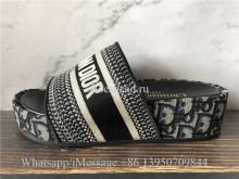 Christian Dior Black Sandals