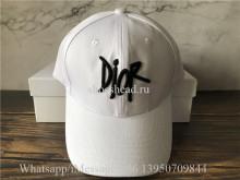 Dior White Cap