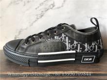 Super Quality Dior B23 Low Top Sneaker Black Oblique