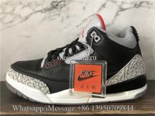 Super Quality Air Jordan 3 III Retro Black Cement