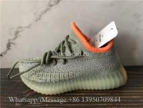 Infant Adidas Yeezy Boost 350 V2 Desert Sage Reflective