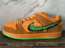 Correct Version Grateful Dead x Nike SB Dunk Low Bear Orange