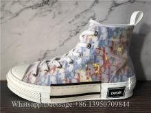 Super Quality Dior B23 High-Top Sneakers Blue Dior Oblique