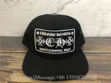 Chrome Hearts Black Hat
