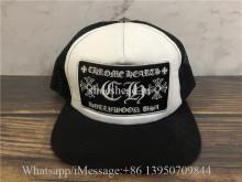 Chrome Hearts White Black Hat