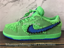 Correct Version Grateful Dead x Nike SB Dunk Low Bear Green