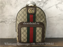 Original Quality Gucci Ophidia Leather Techno Backpack
