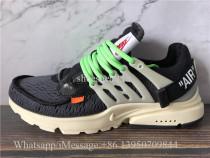 Super Quality Off White x Nike Air Presto Black