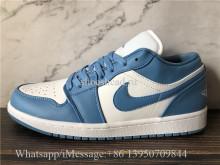Air Jordan 1 Retro Low UNC Blue White